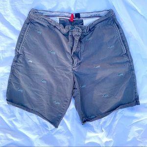 Navy #Jcrew whale shorts